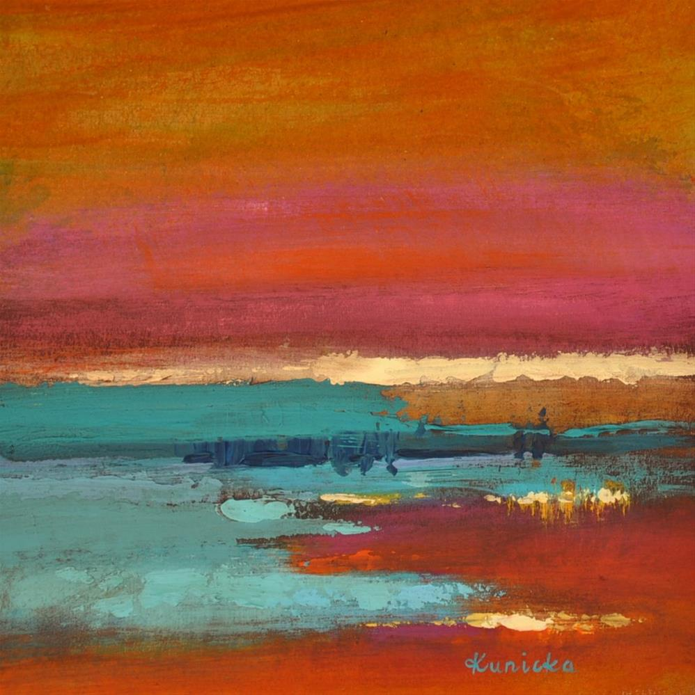 """Landscape 201"" original fine art by Ewa Kunicka"
