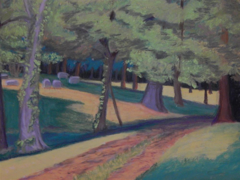"""A Quiet Place"" original fine art by Elaine Shortall"