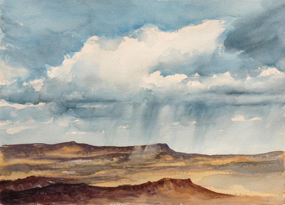 """Southwest Weather"" original fine art by Rafael DeSoto Jr."