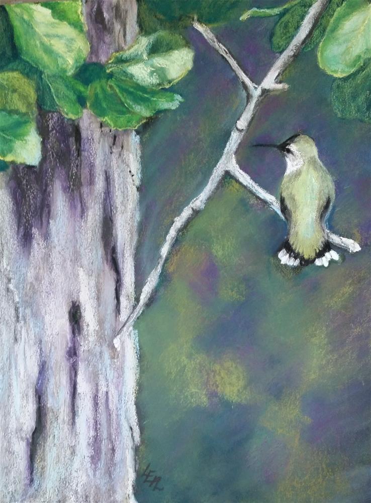 """Coquette"" original fine art by Anna Lisa Leal"