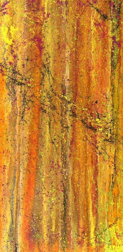 """Contemporary Abstract Expressionism Painting Organic Abstracts-Spice by Colorado Contemporary Arti"" original fine art by Kimberly Conrad"