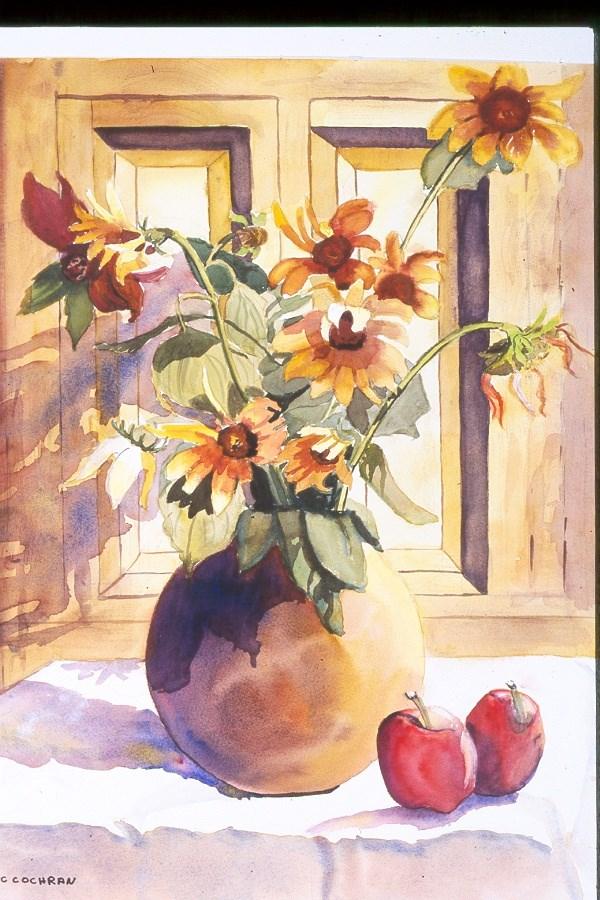 """Mexican Gold"" original fine art by Carol Cochran"