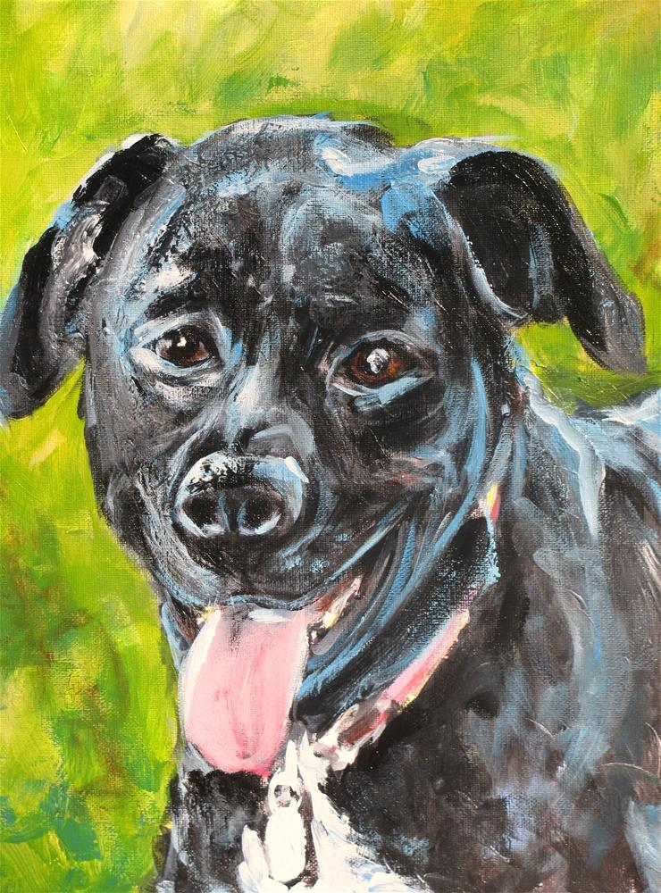"""Lily Belle"" original fine art by Susan Elizabeth Jones"