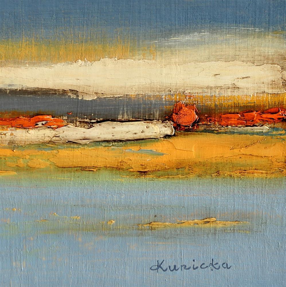 """Landscape 260"" original fine art by Ewa Kunicka"
