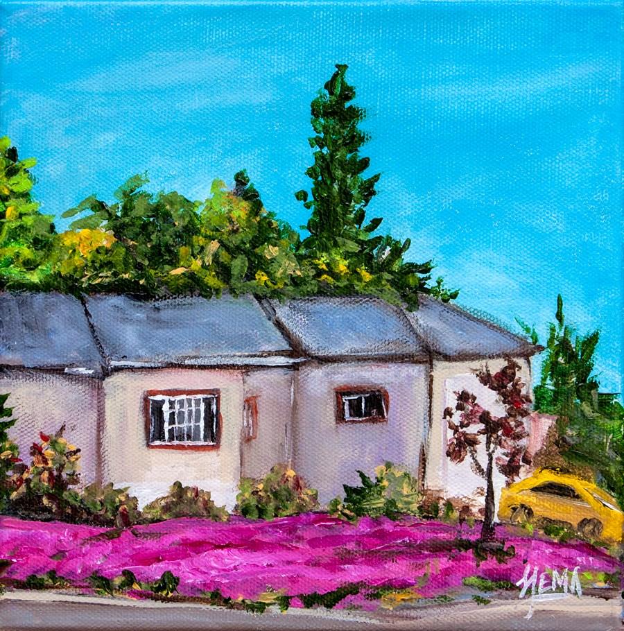 """Smithwood St Spring"" original fine art by Hema Sukumar"