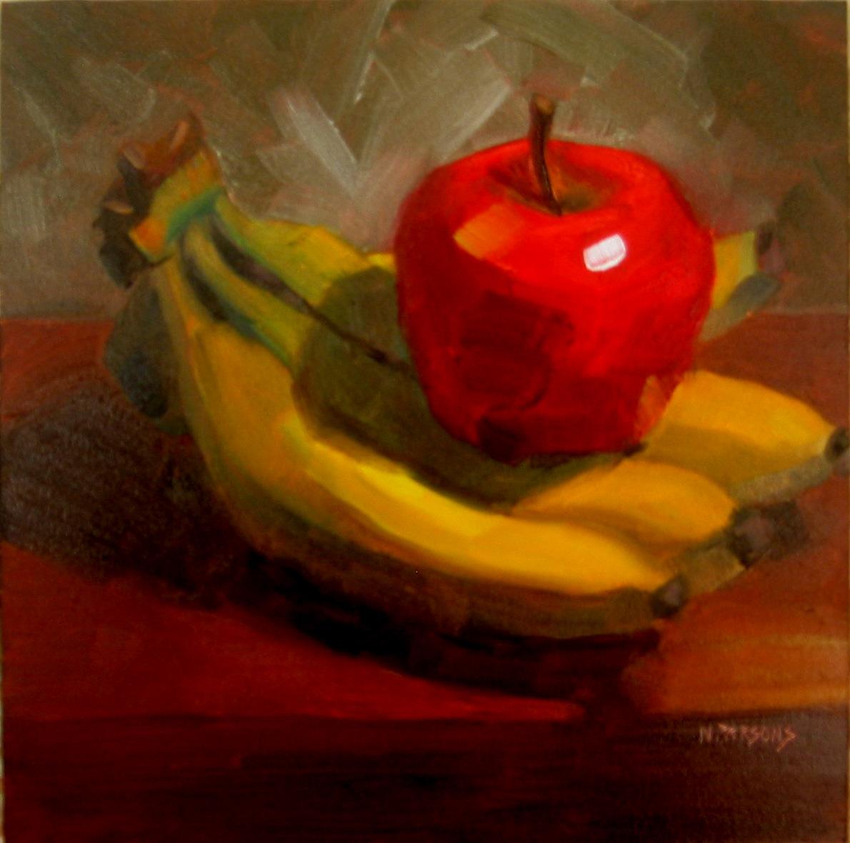 """Codependent"" original fine art by Nancy Parsons"