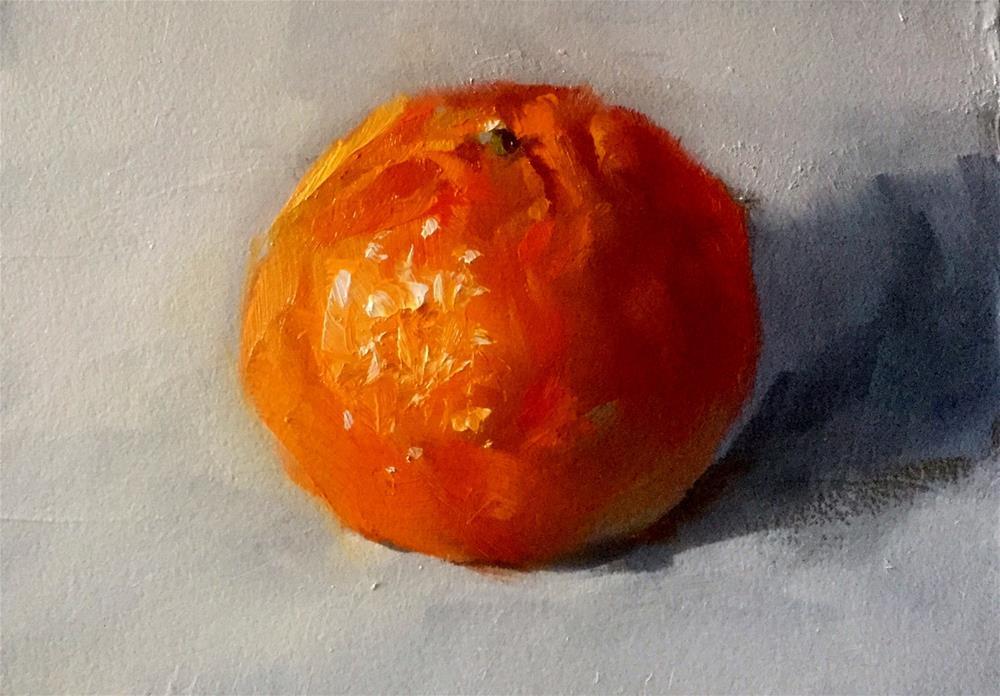 """""""Oh Clementine"""" original fine art by Gary Bruton"""