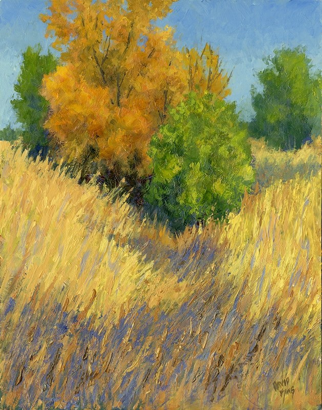 """Fall Begins"" original fine art by David King"