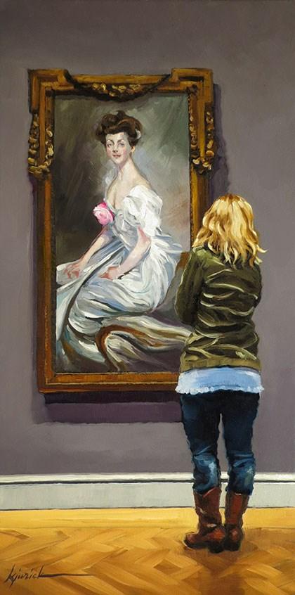 """""""In Vogue"""" original fine art by Karin Jurick"""