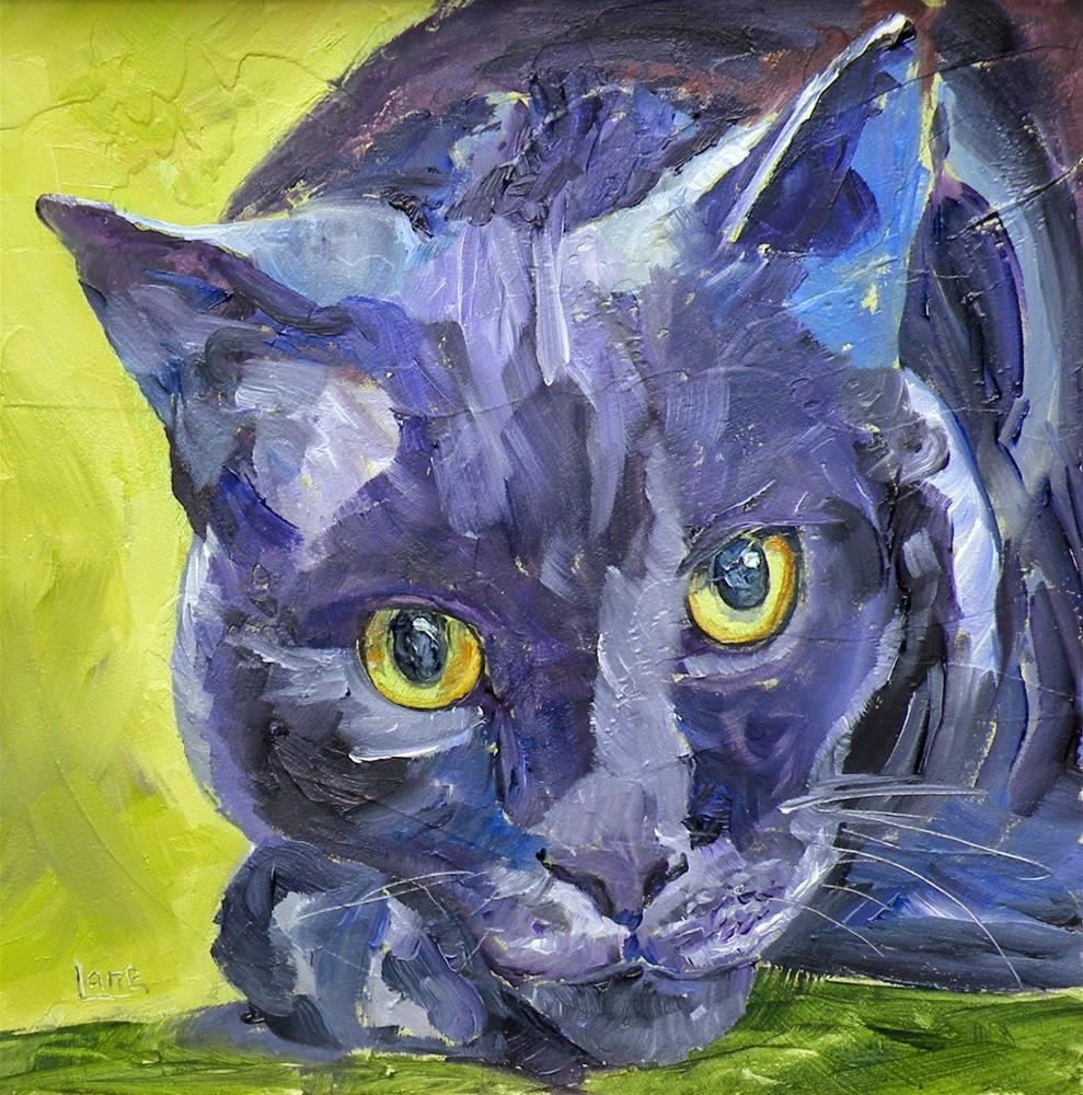 """SHADOW 35/100 OF 100 PET PORTRAITS IN 100 DAYS © SAUNDRA LANE GALLOWAY"" original fine art by Saundra Lane Galloway"