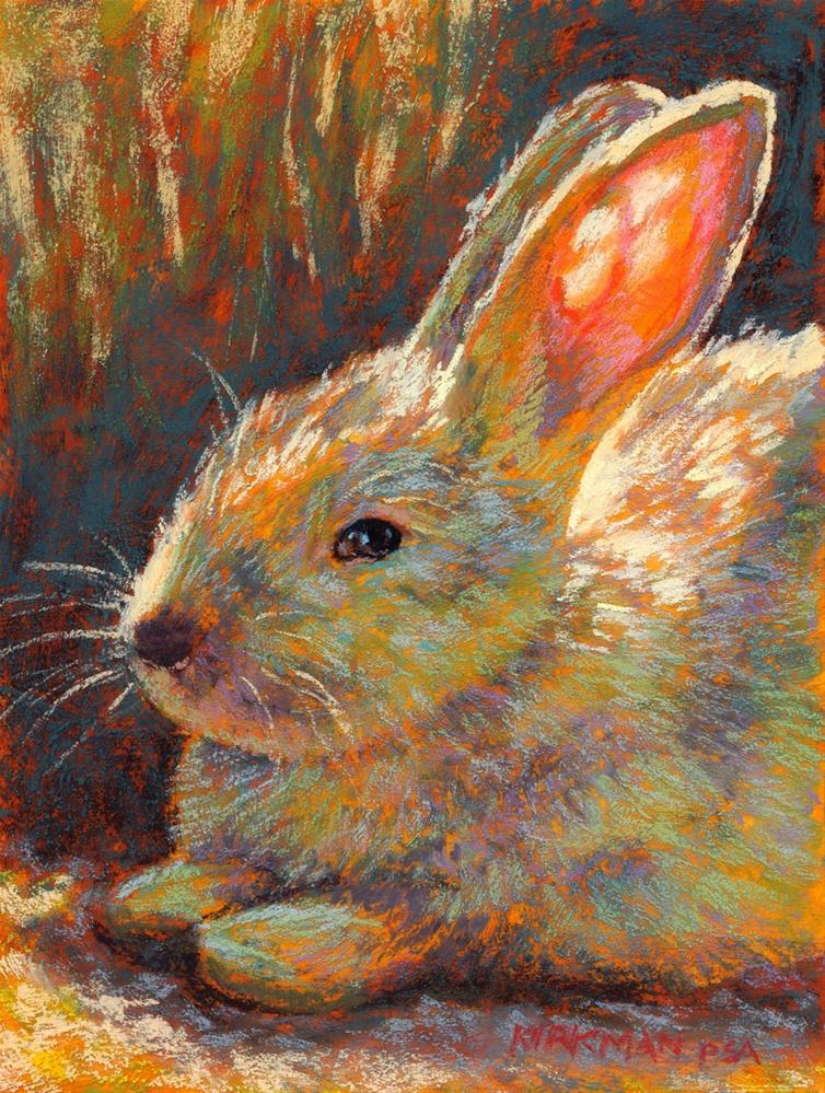 """Whiskers"" original fine art by Rita Kirkman"