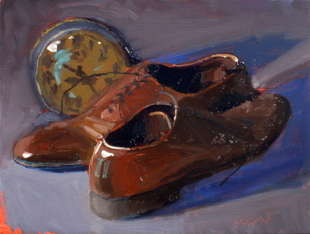 """time to start walking"" original fine art by Dan Graziano"