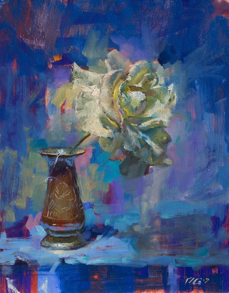"""Rose No. 4"" original fine art by Dimitriy Gritsenko"