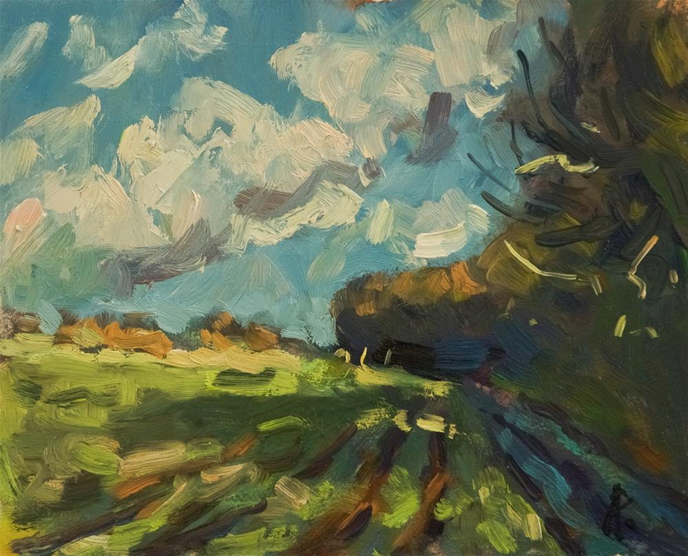 """Lane near Goodwood"" original fine art by Andre Pallat"