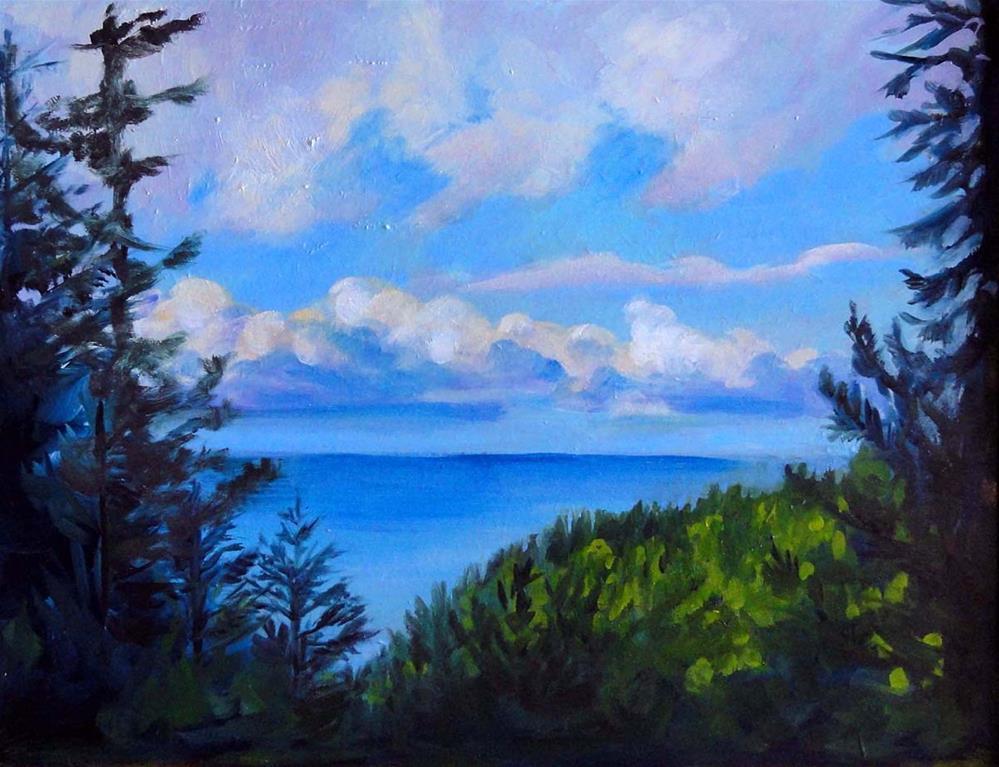 """Boring Old paradise"" original fine art by Cietha Wilson"