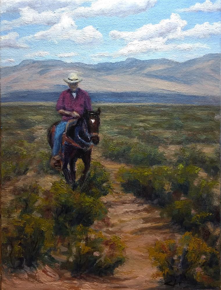 """""""Billy"""" original fine art by Candi Hogan"""