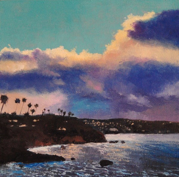 """LOOKING SOUTH"" original fine art by Gerald Schwartz"