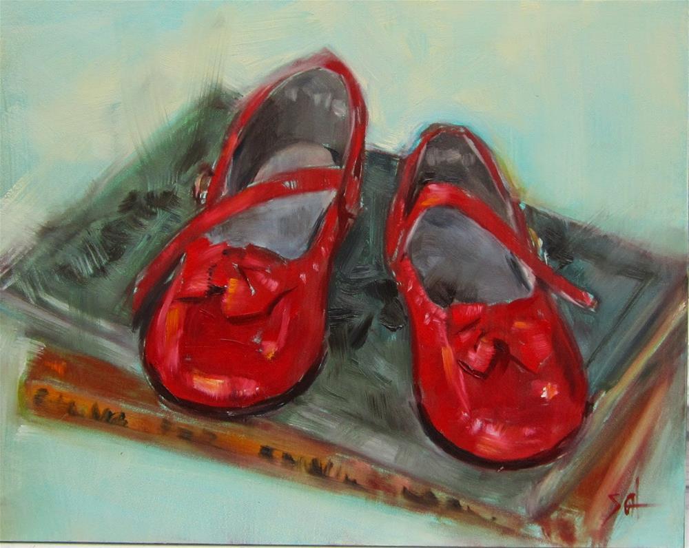 """Dorothy"" original fine art by Sandy Haynes"