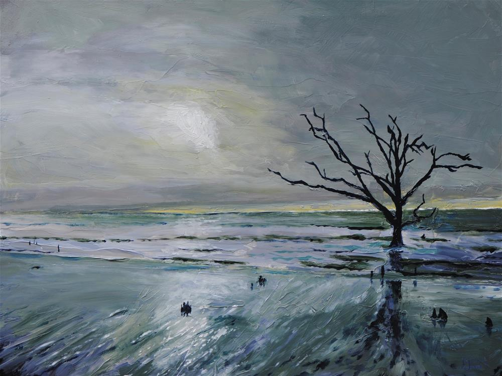 """Botany Bay"" original fine art by Fred Jones"