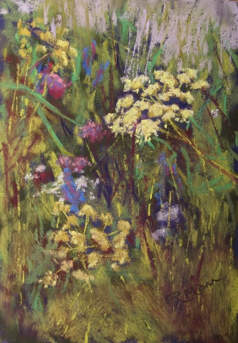 """Umbellifer"" original fine art by Ruth Mann"