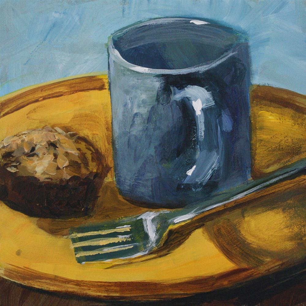 """Breakfast"" original fine art by Shannon Bauer"