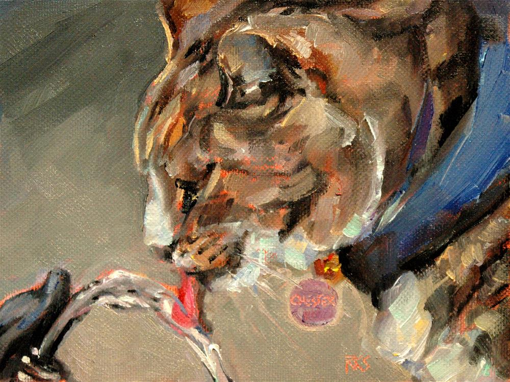 """Chester from Sequoia Zoo"" original fine art by Rachel K Schlueter"
