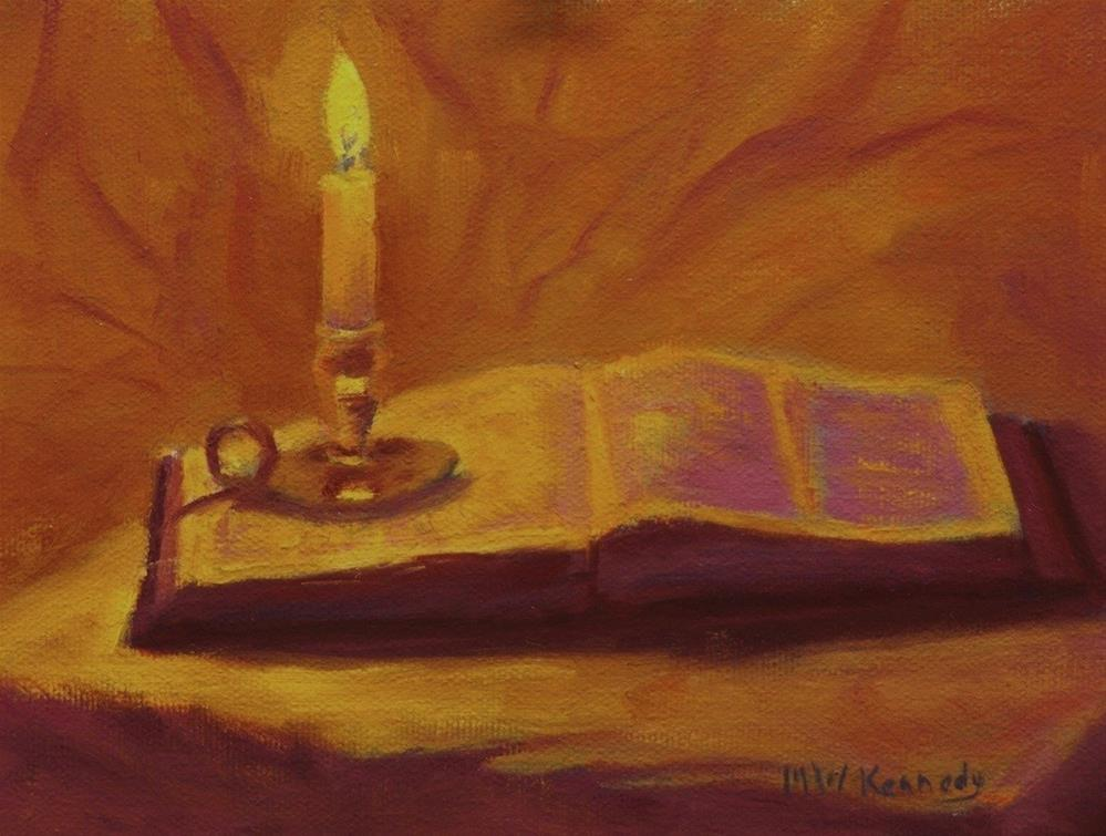 """Dwell in the Lord's House"" original fine art by Michael Kennedy"