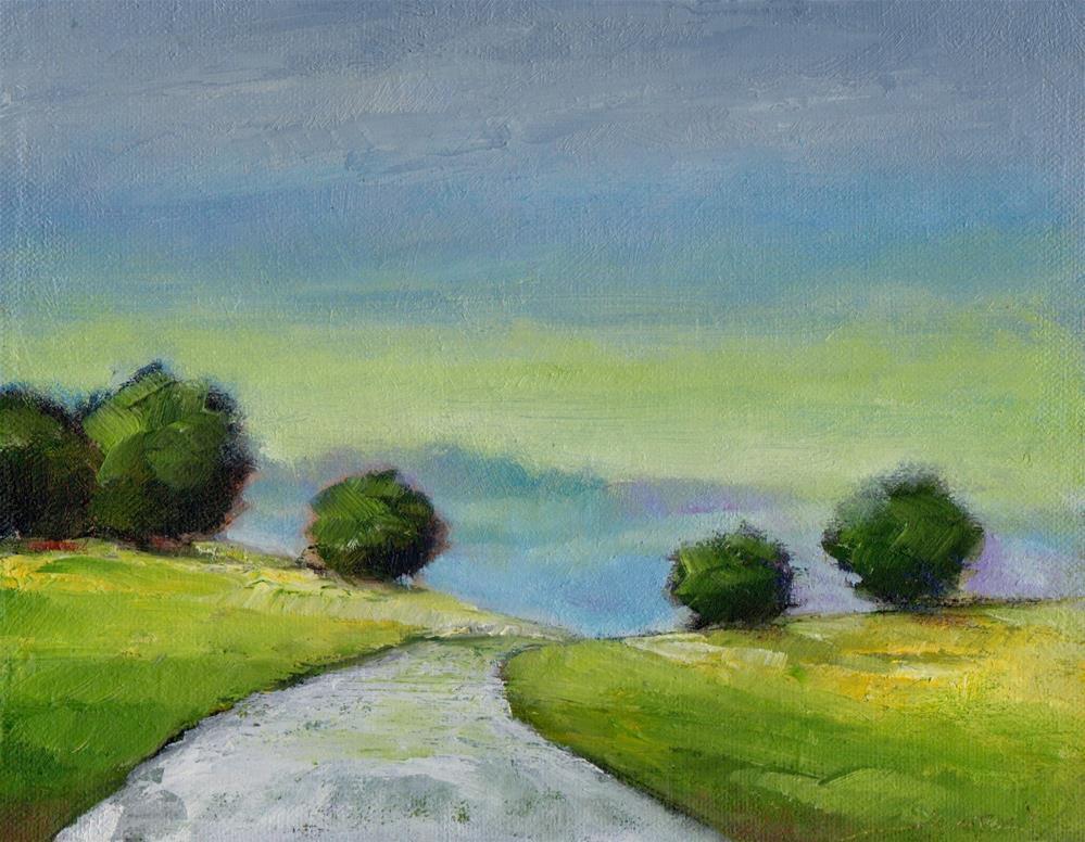 """Hills"" original fine art by Leo DeBak"