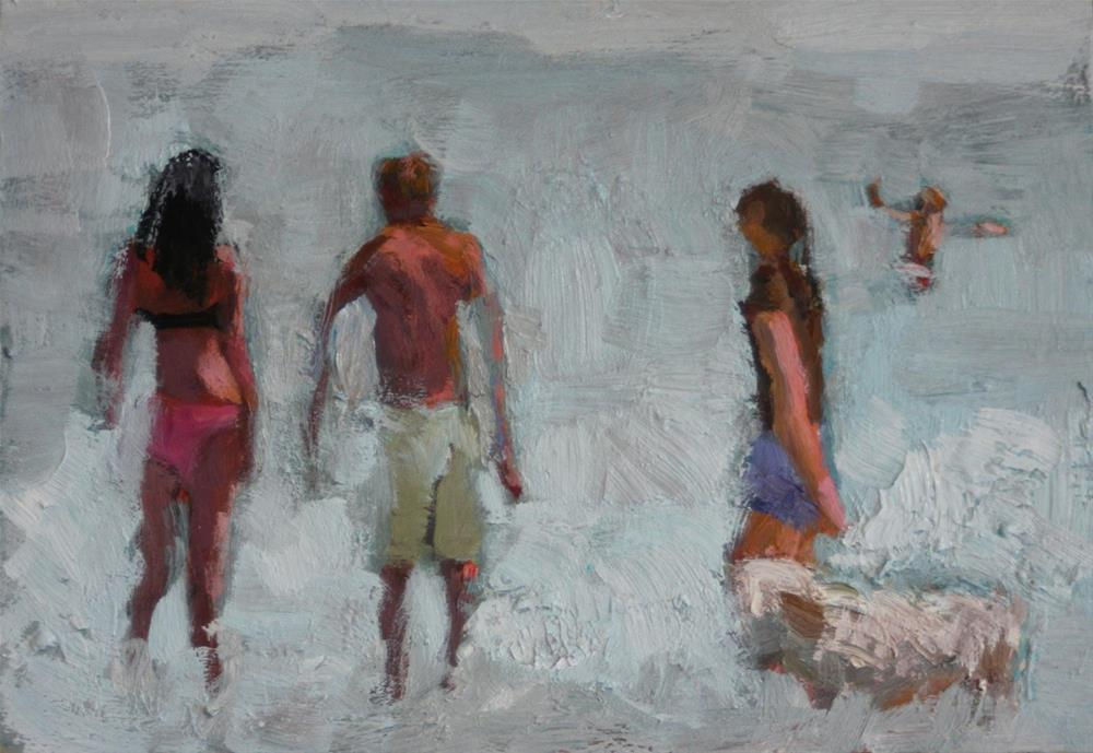 """Beaches Toronto"" original fine art by Christine Parker"