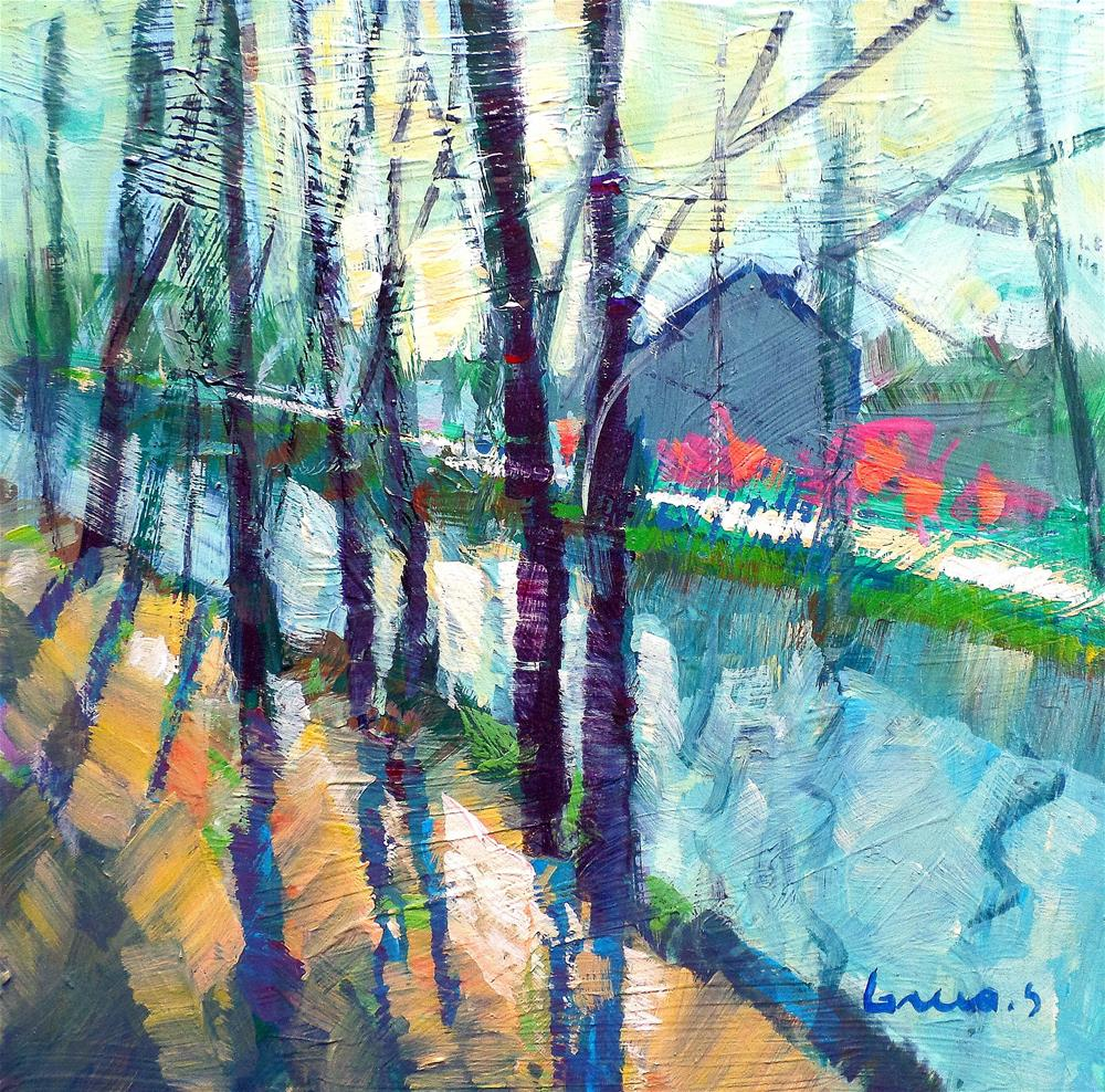 """the canal"" original fine art by salvatore greco"