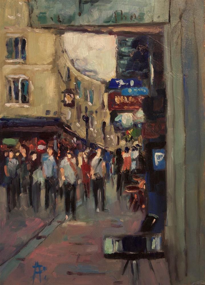 """Bartholomew Street, Brighton"" original fine art by Andre Pallat"