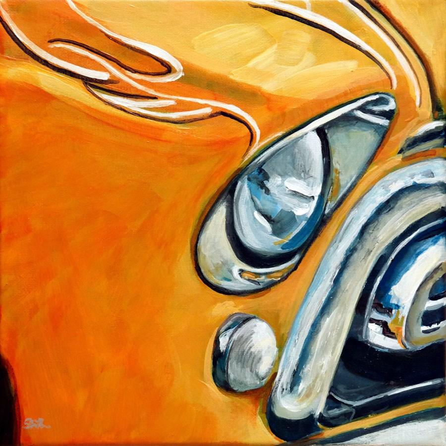 """""""1194 Chevy Van"""" original fine art by Dietmar Stiller"""