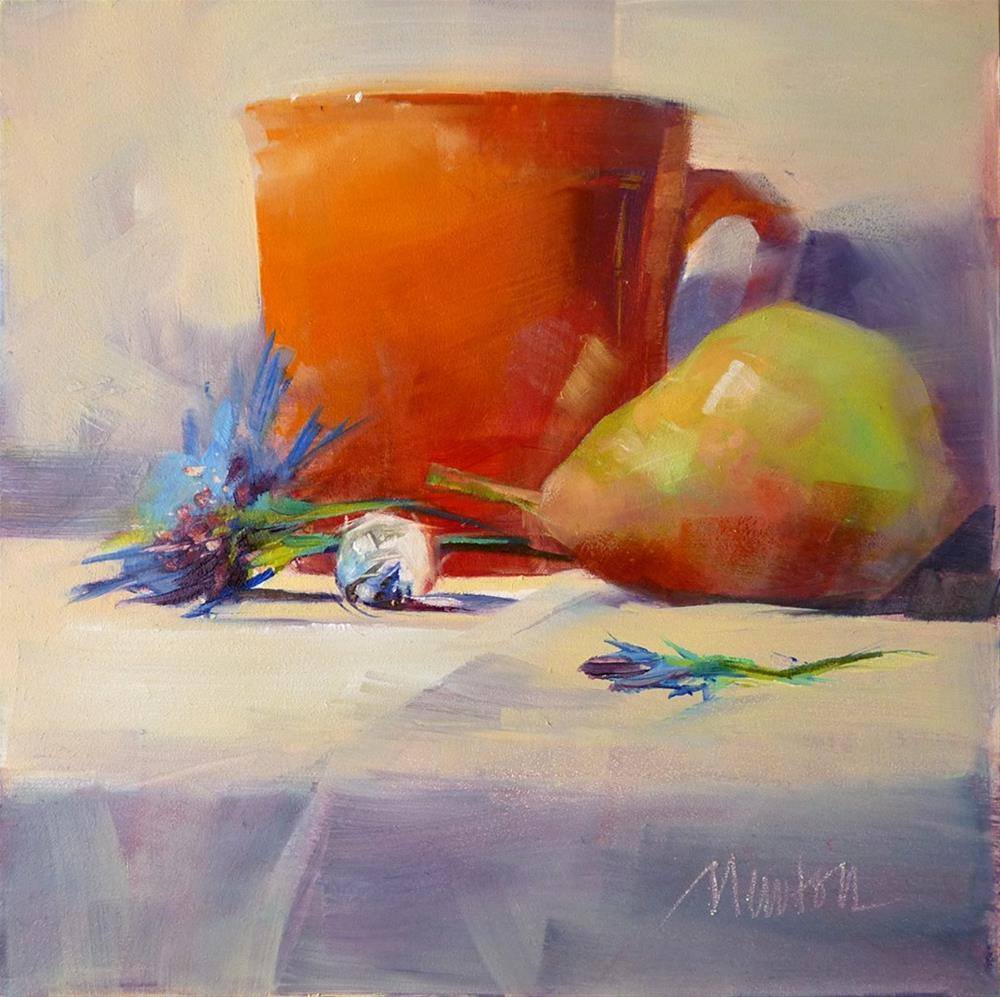 """""""A Bright Tomorrow"""" original fine art by Barbara Benedetti Newton"""