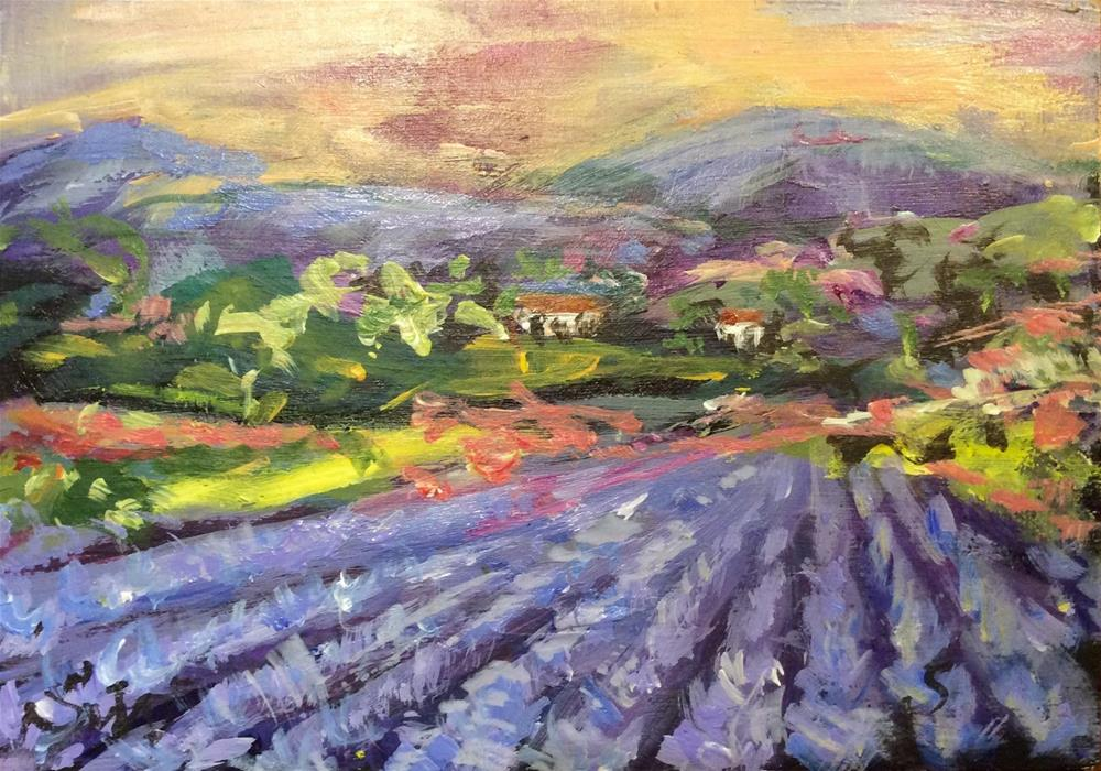 """Provence moment"" original fine art by Sonia von Walter"