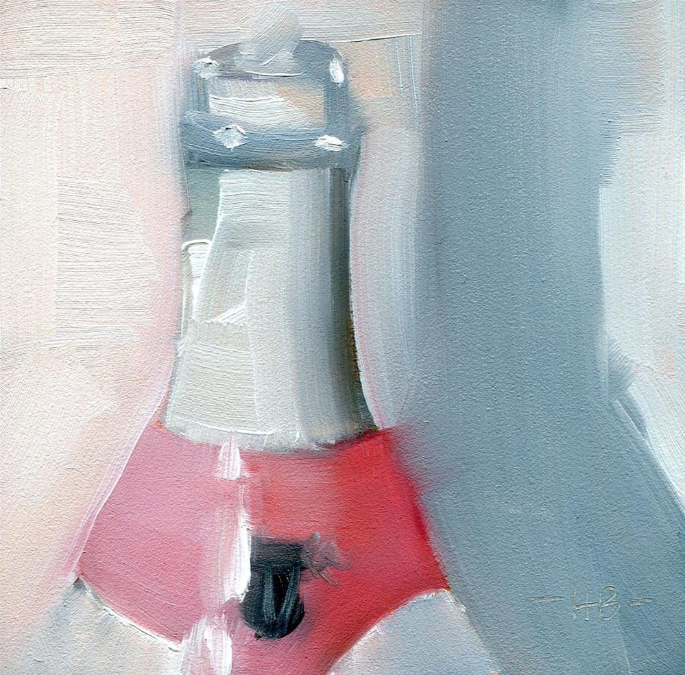 """Break Out the Bubbly"" original fine art by Heather Bennett"