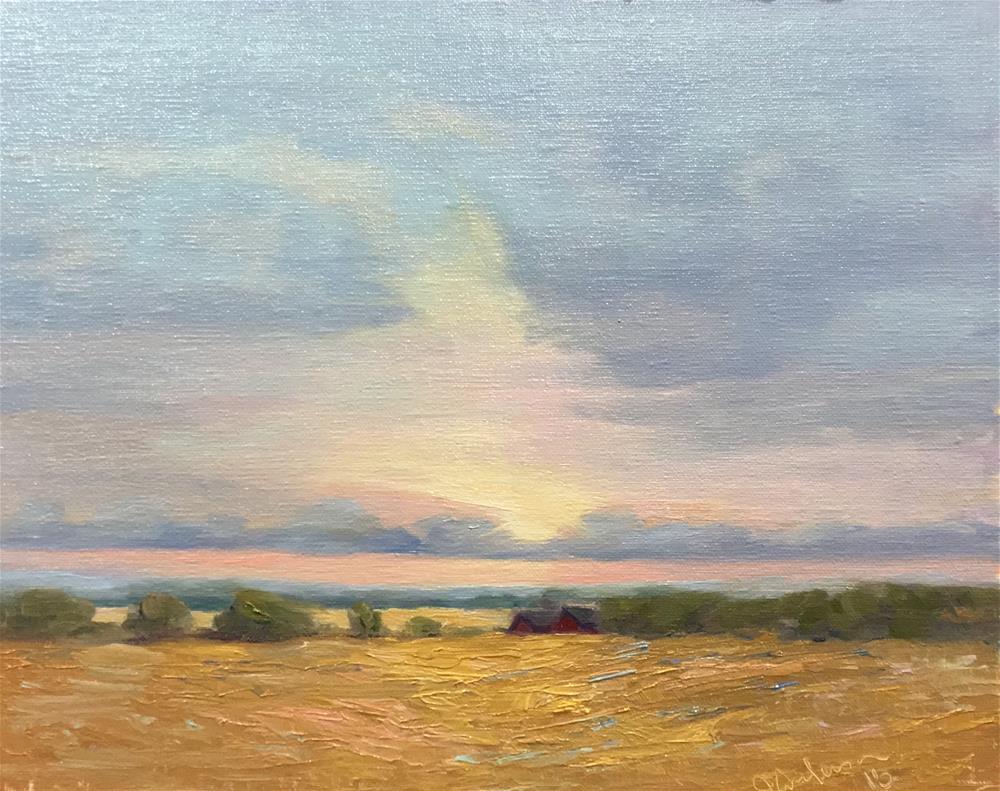 """""""Minnesota Morning"""" original fine art by Judith Anderson"""