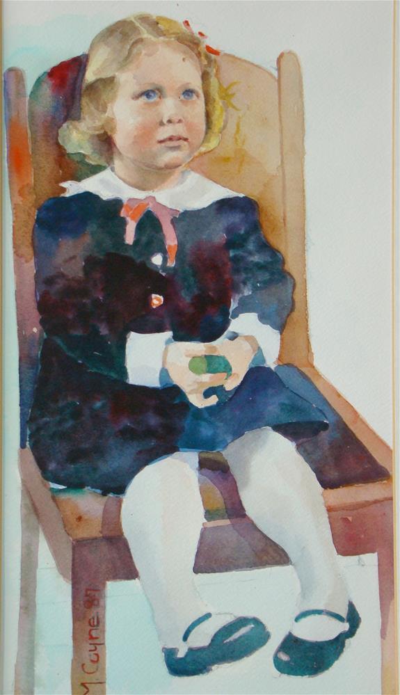 """Emma"" original fine art by meribeth coyne"