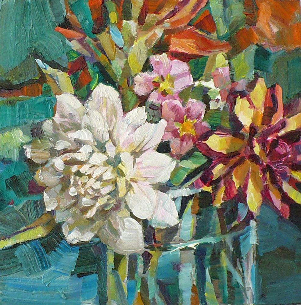 """Thick paint"" original fine art by Nicoletta Baumeister"