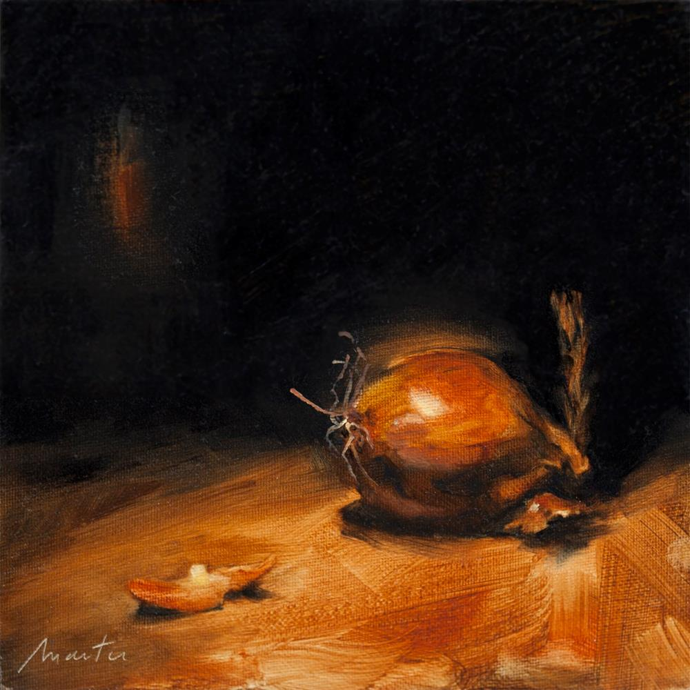 """Shallot"" original fine art by Thierry Monter"