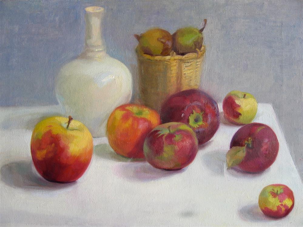 """Apples for Everyone"" original fine art by Ann Buenaventura"