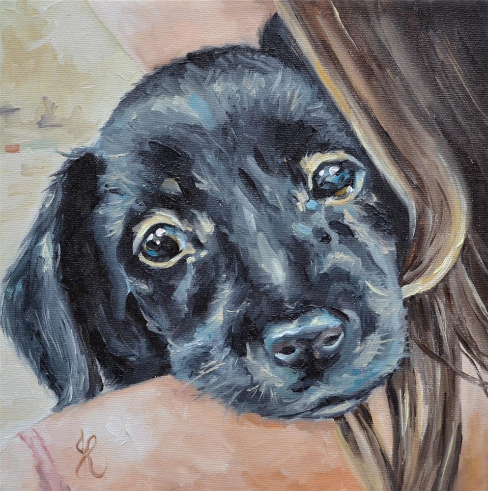 """Diesel"" original fine art by Jacinthe Rivard"