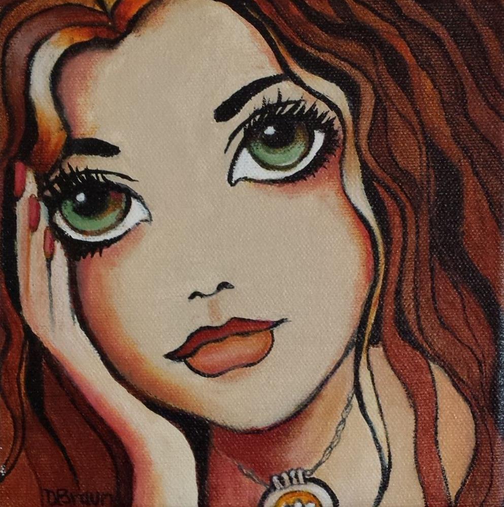"""""""Untitled"""" original fine art by Dianne  Braun"""