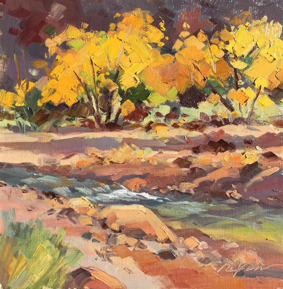 """The Brilliance of Fall"" original fine art by Mary Jabens"