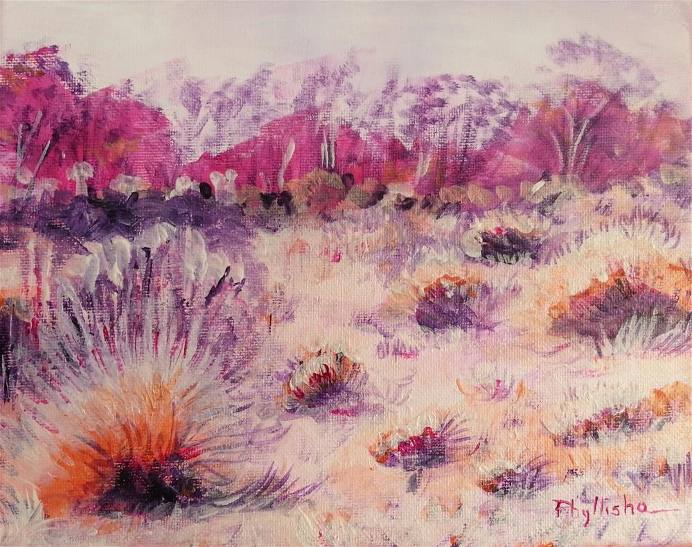 """Southwest Scene II"" original fine art by Phyllisha Hamrick"