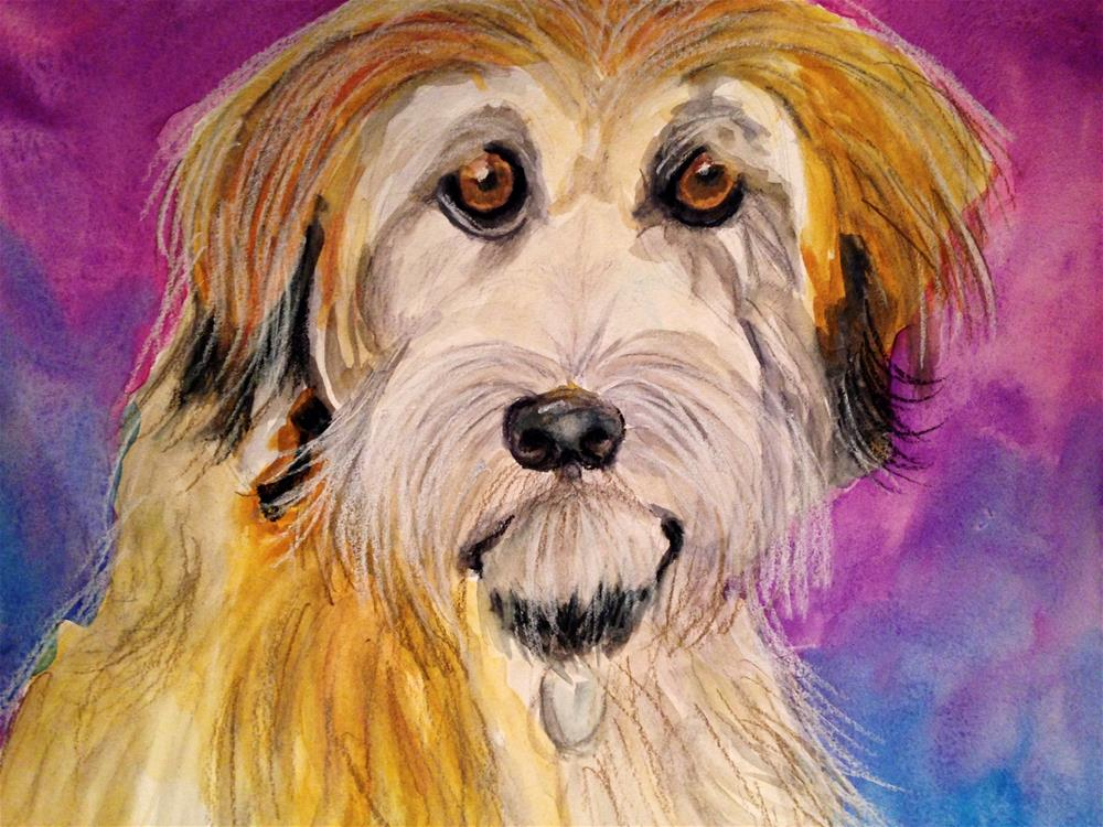 """Weaton Terrier"" original fine art by Barbara Beckmann"