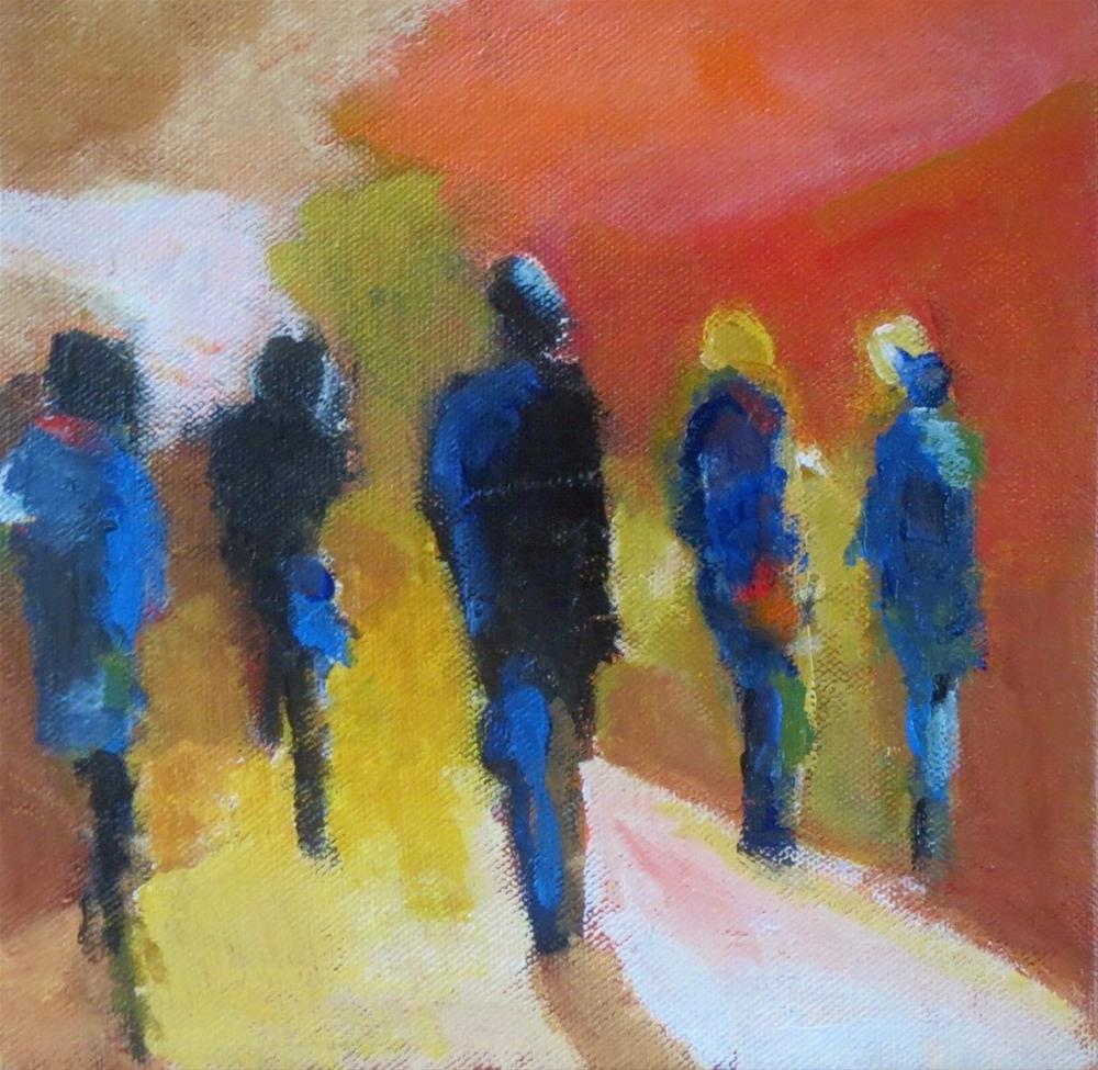 """""""Voyagers (2)"""" original fine art by Astrid Buchhammer"""