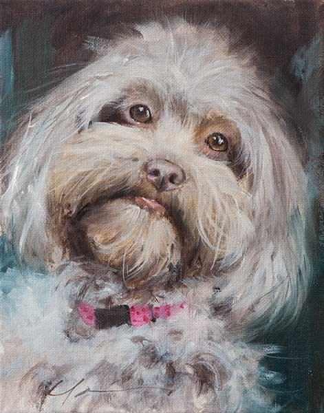 """PAINT MY DOG! Series #33"" original fine art by Clair Hartmann"