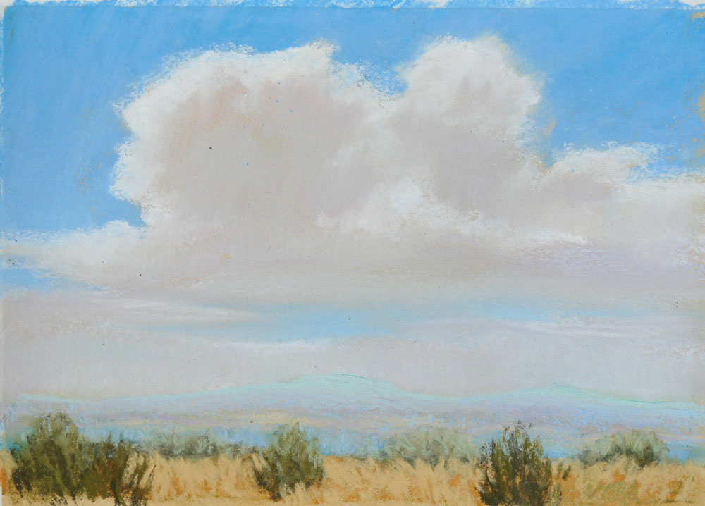 """Summer Sky"" original fine art by Rita Kirkman"