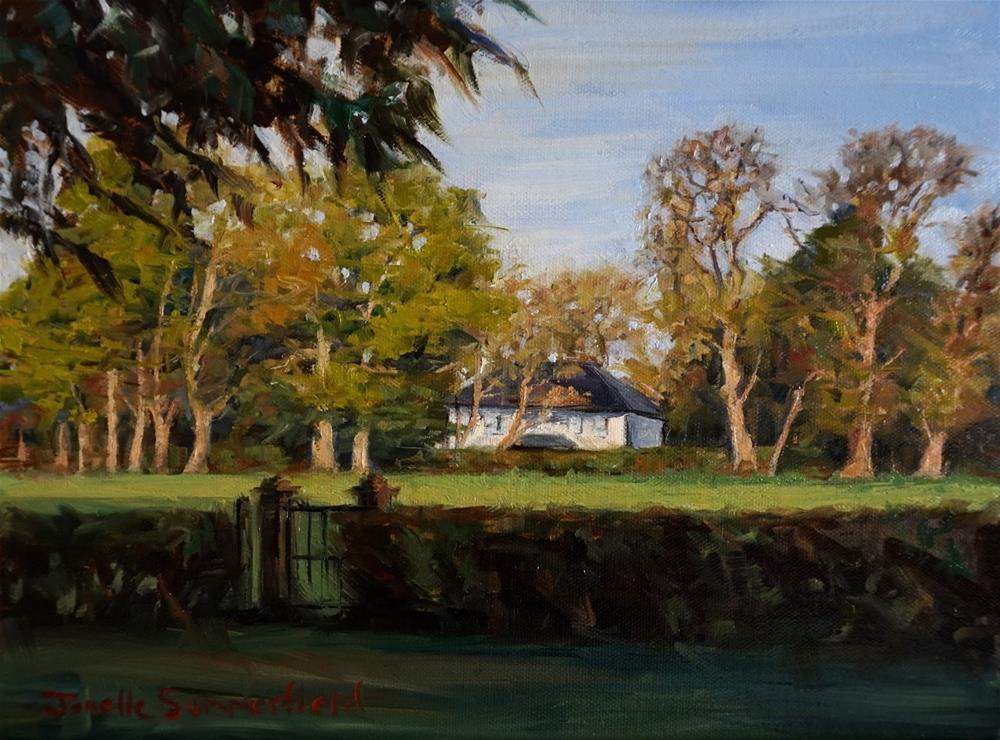 """""""Wexford Farm"""" original fine art by Jonelle Summerfield"""