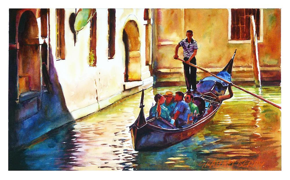 """Gondola ride."" original fine art by Graham Berry"